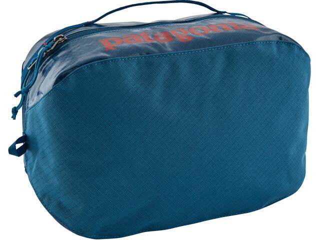 Patagonia Black Hole Cube Toiletry Bag Large balkan blue